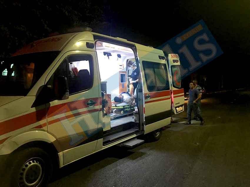 çarpışma, kaza, Lefkoşa, HB 171, Dr. Burhan Nalbantoğlu Devlet Hastanesi,