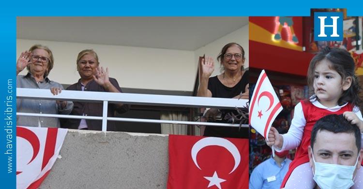 29 Ekim Cumhuriyet bayramı Lefkoşa'da kutlandı