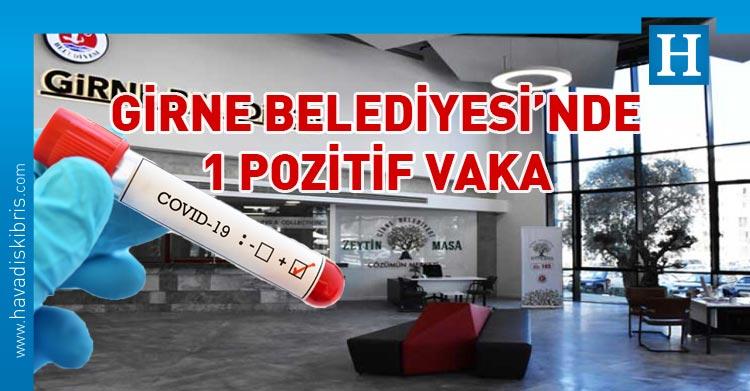 Girne Belediyesi'nde covid-19
