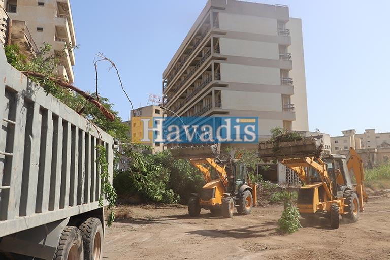 Maraş'ta asfaltlama çalışmaları
