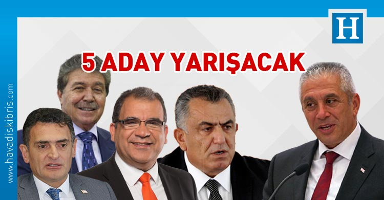 UBP Başkanlık adayları