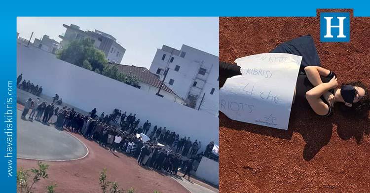 AKEL Dasupoli Lisesi'nde saldırı