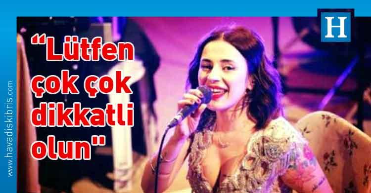 Şarkıcı Ceylan Ertem