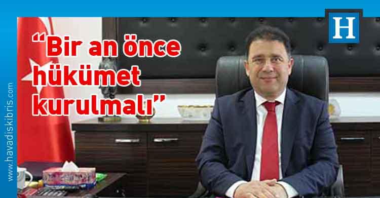 Ulusal Birlik Partisi (UBP) Genel Başkan Vekili Ersan Saner