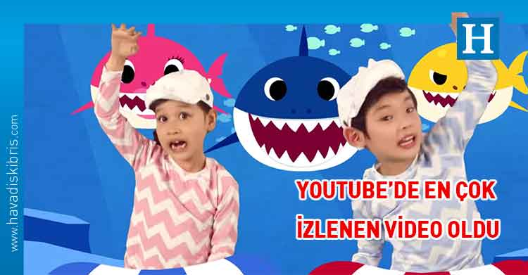 Baby shark, despacito, youtube,
