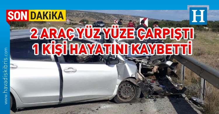 kumyalı'da ölümlü kaza
