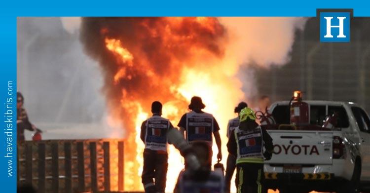 Romain Grosjean kaza