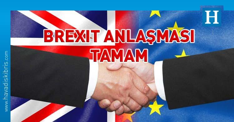 brexit anlaşması imzalandı