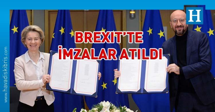 ab Birleşik Krallık ticaret anlaşması imzalandı