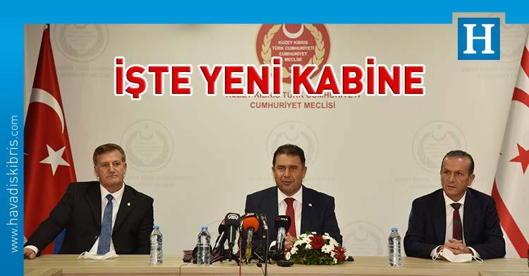 UBP DP YDP koalisyon hükümeti