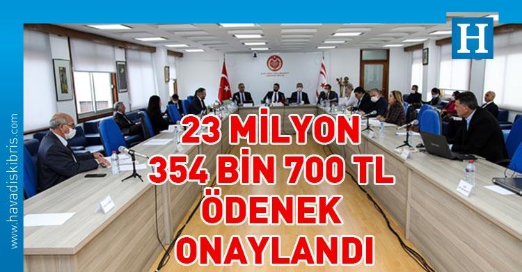 2021 mali yılı bütçesi onaylandı
