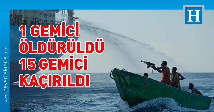 Türk gemisine Gine Körfezi'nde korsan saldırısı