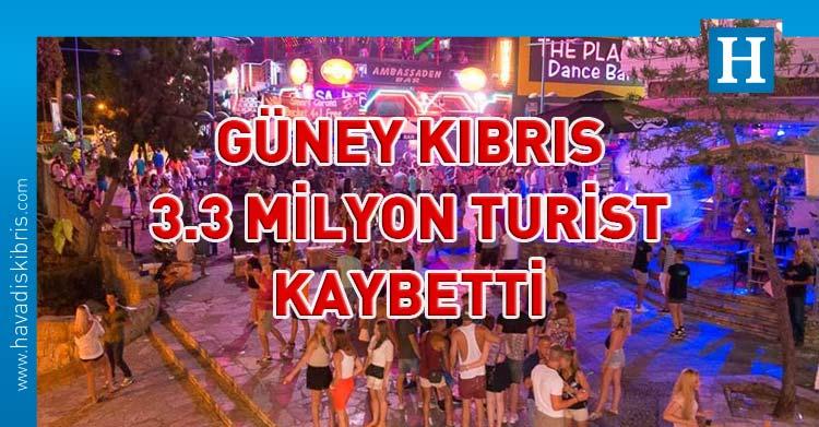 güney kıbrıs turist sayısı
