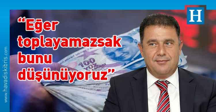 Başbakan Ersan Saner, Maliye, maaş kesintisi