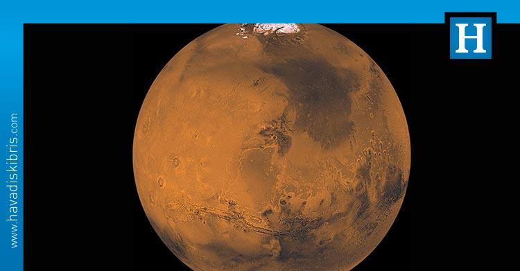 mars keşfedilmemiş gaz
