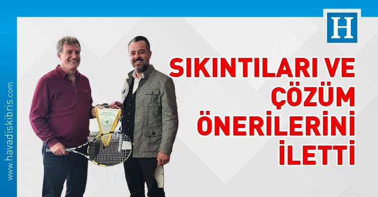 Kuzey Kıbrıs Tenis Federasyonu Başkanı Hasan Gazioğlu