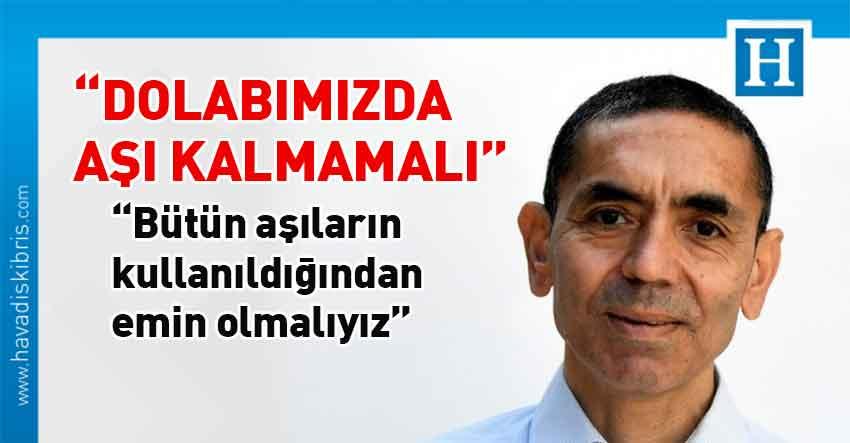 BioNTech şirketinin kurucularından Prof. Dr.Uğur Şahin, aşı