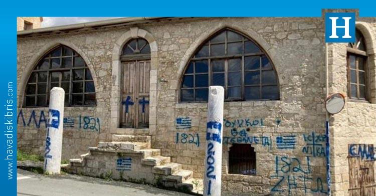kudret özersay güney kıbrıs cami yazısı