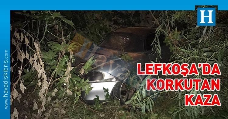 lefkoşa metehan yolu trafik kazası
