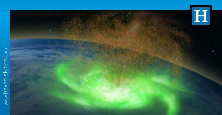 yağmur yerine elektron yağdıran uzay kasırgası