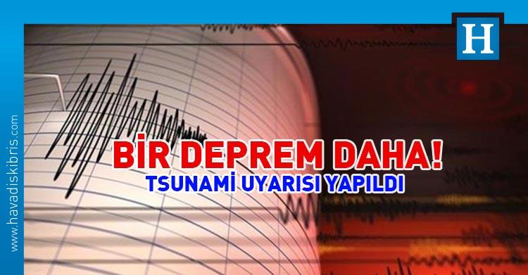 yeni zelanda bir deprem daha