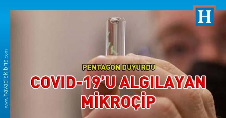 COVID-19 tespit eden mikroçip