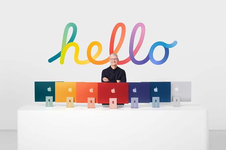 Renkli iMac