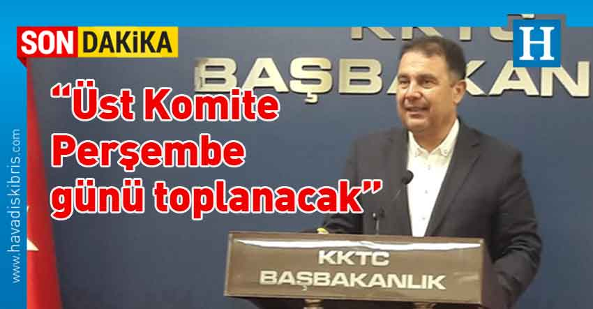 Başbakan Ersan Saner, Bakanlar Kurulu