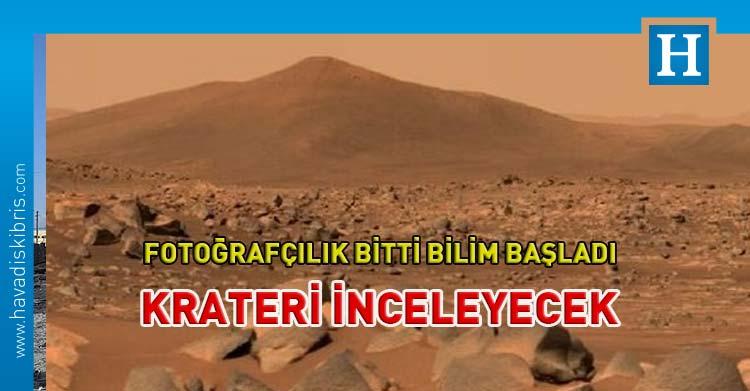 Perseverance mars göl krater