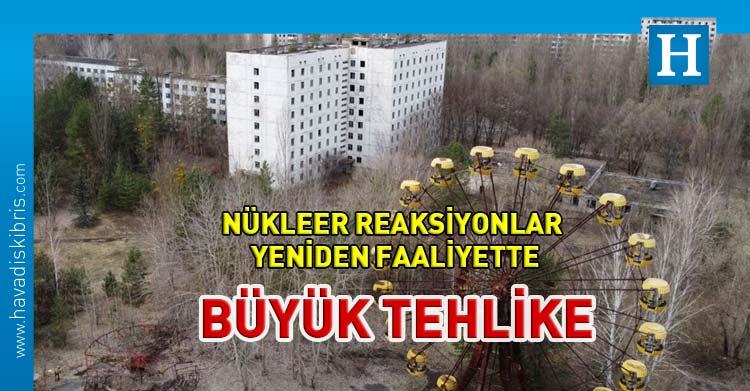 çernobil nükleer reaksiyon