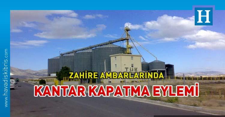 çiftçiler birliği kantar kapatma eylemi