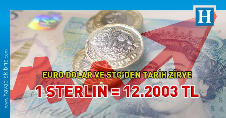 Sterlin 12.20 TL