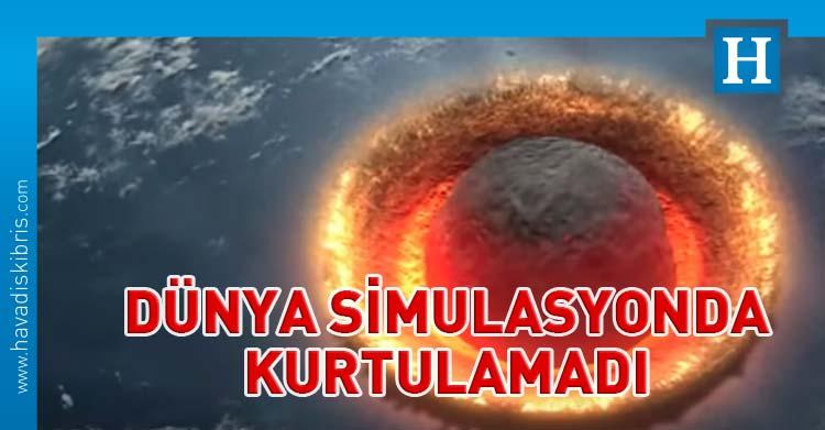 Dünya asteroid simulasyon