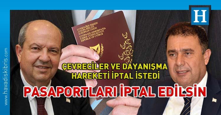 Ersin Tatar'ın Kıbrıs Cumhuriyeti pasaportu