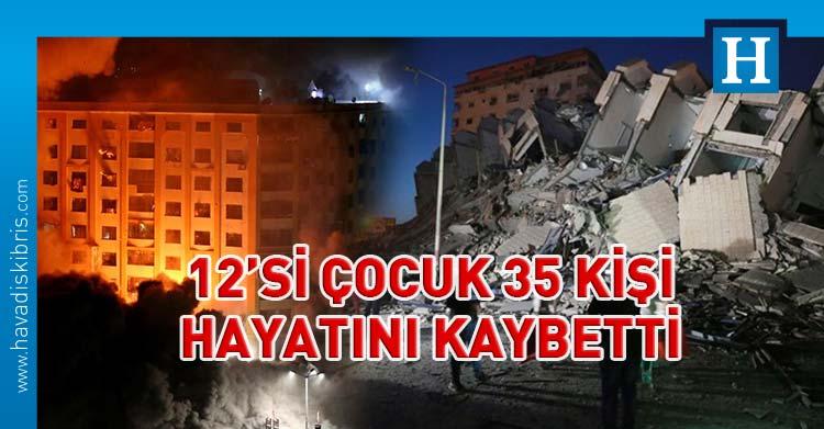 israil gazze saldırı