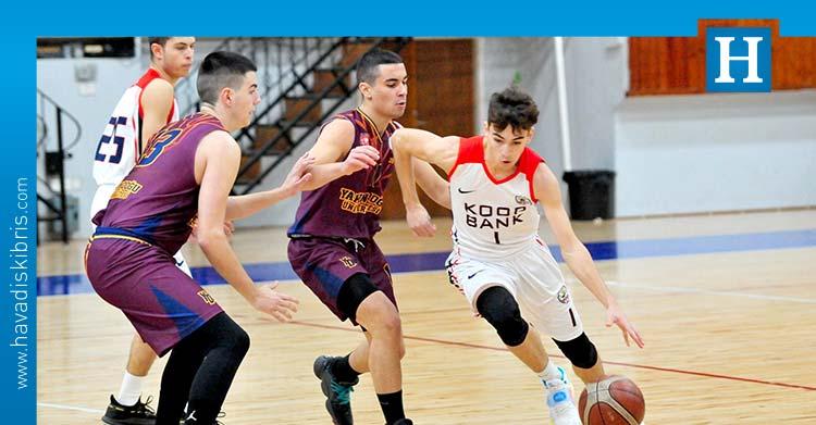 kktc basketbol u17 ilk maç