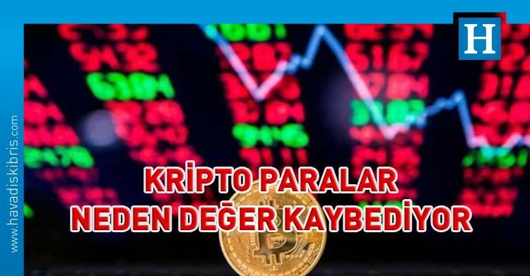 kripto para değer kaybı