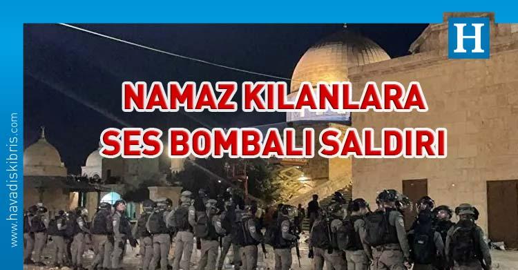 Mescid-i Aksa'ya ses bombalı saldırı