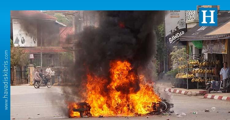 Myanmar'da bombalı saldırı