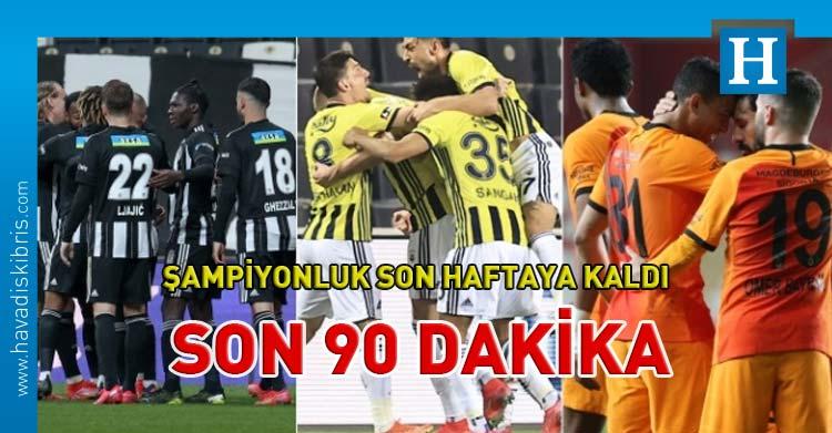 Türkiye şampiyonluk yarışı