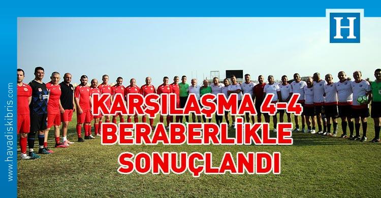 Cumhuriyet Meclisi Futbol Takımı ile İskele Masterleri Futbol Takımı
