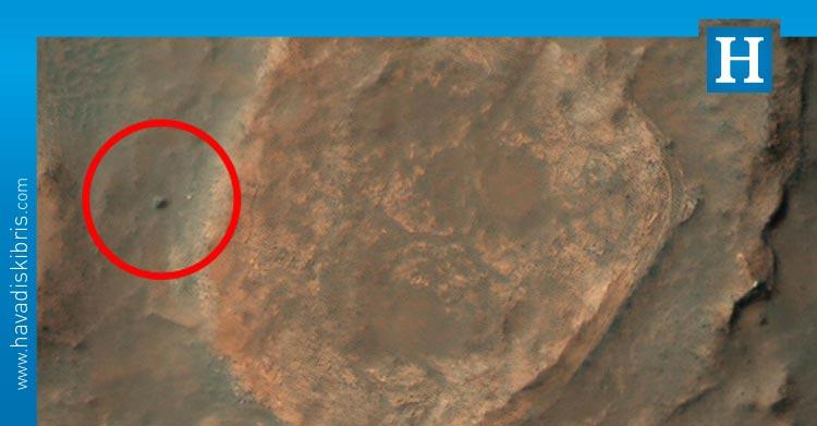 Yıllar önce Mars'ta kaderine terk edilen uzay aracı görüntülendi