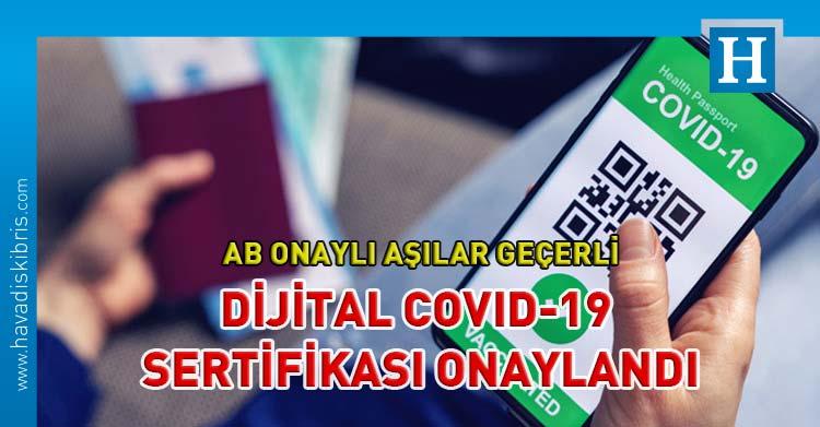 Dijital COVID-19 Sertifikası
