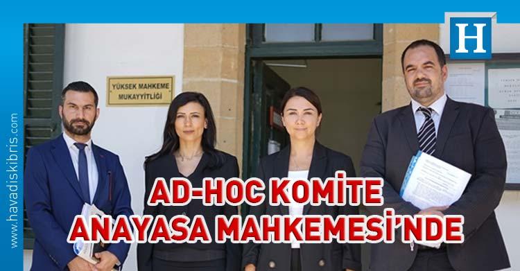 CTP ve HP AD-HOC Komite'yi Anayasa Mahkemesi'ne taşıdı