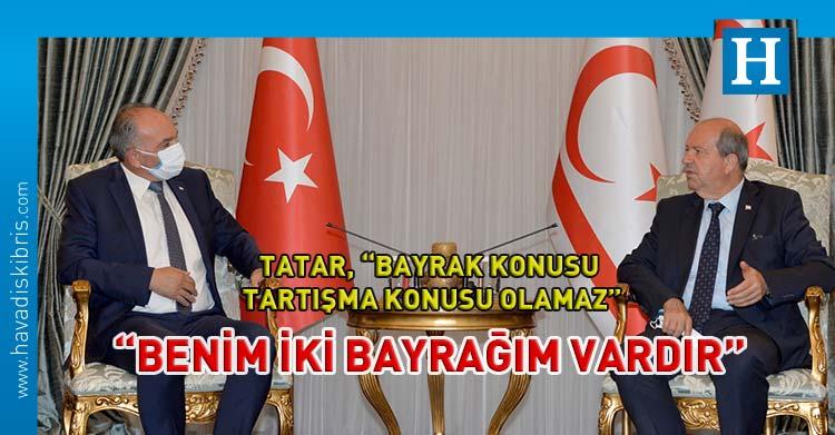 Ersin Tatar Gürsel Benan görüşmesi