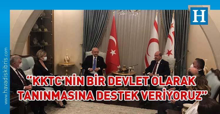 ersin tatar Kemal Kılıçdaroğlu görüşmesi