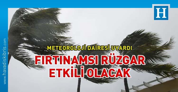 fırtınamsı rüzgar