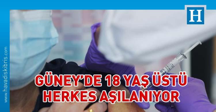 Güney Kıbrıs'ta covid-19 aşı uygulaması