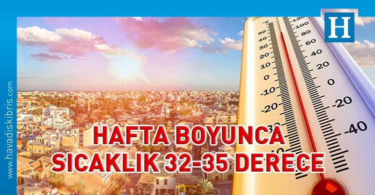 hava druumu sıcaklık 35 derece