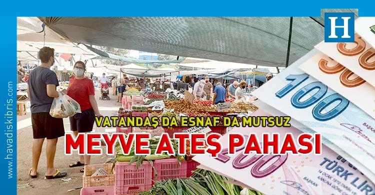 Lefkoşa açık pazar sebze meyve fiyatları